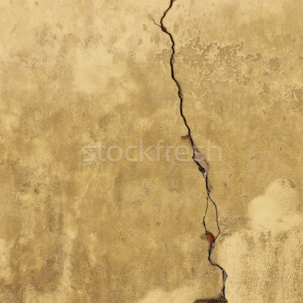 Cracked Wall Stock photo © Binkski
