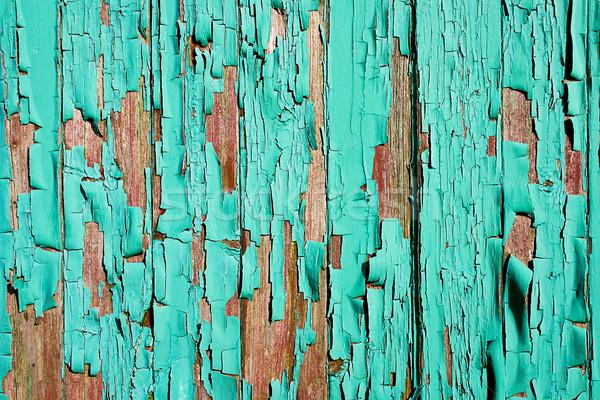 Boya grunge eski ahşap arka plan Stok fotoğraf © Binkski