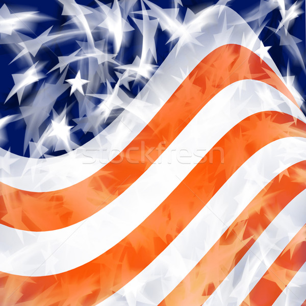 American Flag Stock photo © Binkski