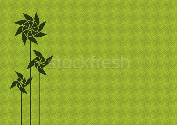 緑 グリーンエネルギー ストックフォト © Bisams