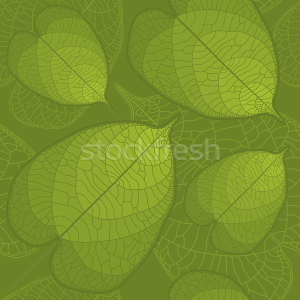 Leaf seamless background Stock photo © Bisams