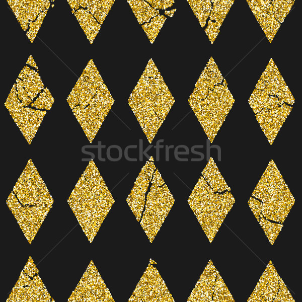 Gold glitter pattern Stock photo © biv