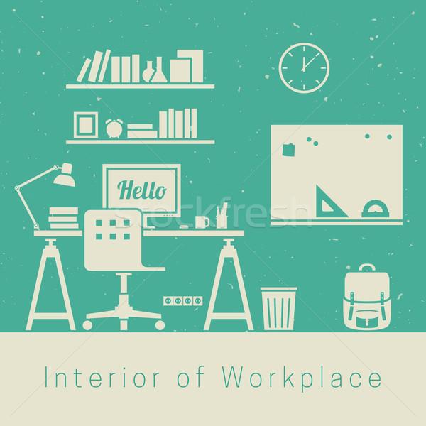 Workplace Stock photo © biv