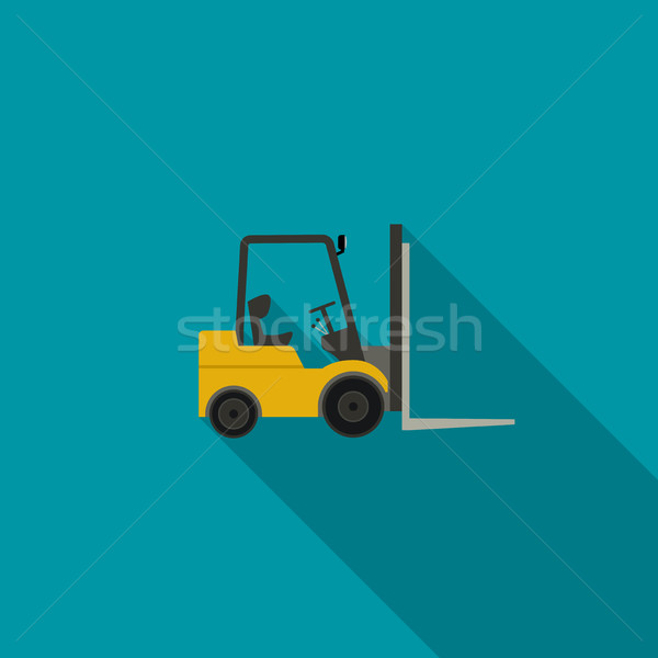 Forklift truck icon Stock photo © biv