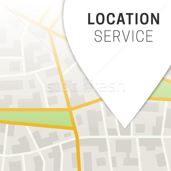 City Map Background. Stock photo © biv