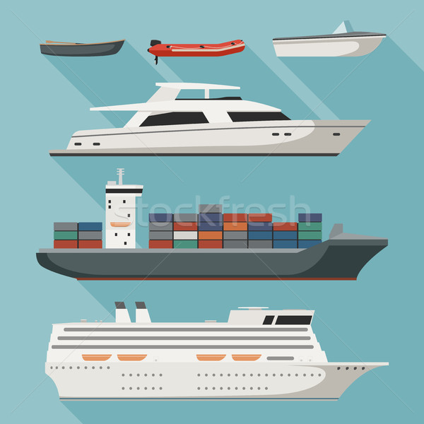 Ships and boats Stock photo © biv