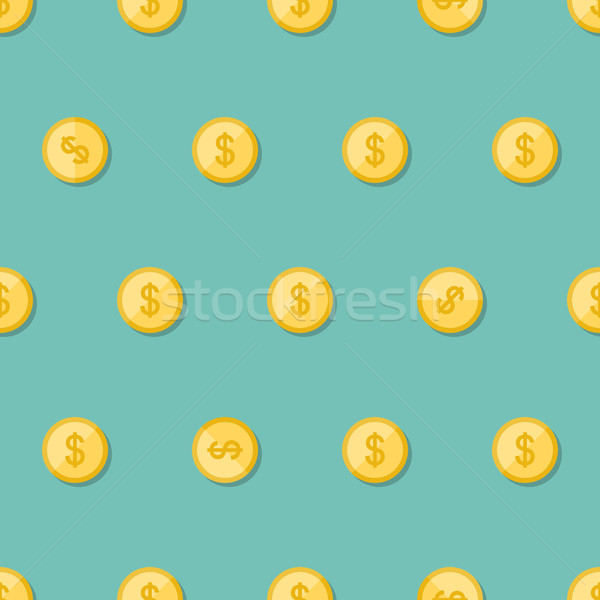Madeni para Metal para iş kâğıt Stok fotoğraf © biv