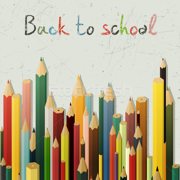 Back to school background Stock photo © biv