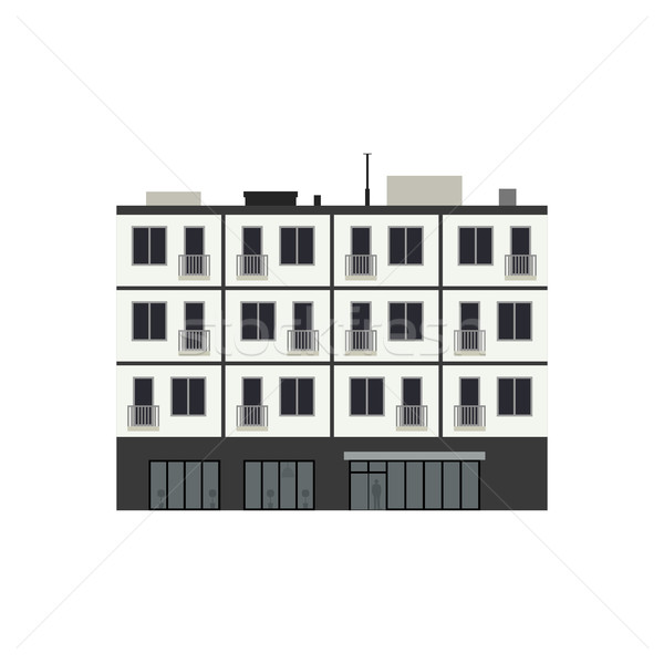 Condominium building Stock photo © biv
