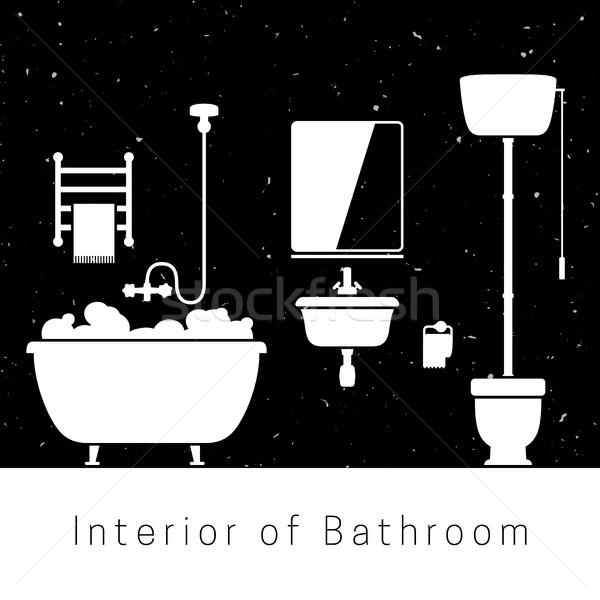 Bathroom interior Stock photo © biv