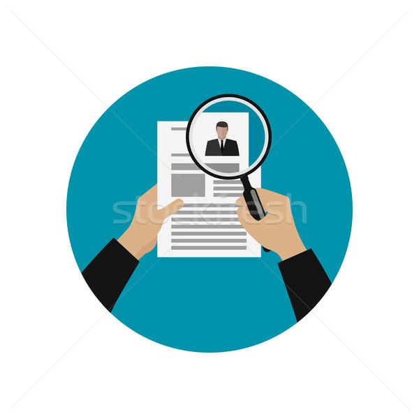 Hiring professional staff Stock photo © biv
