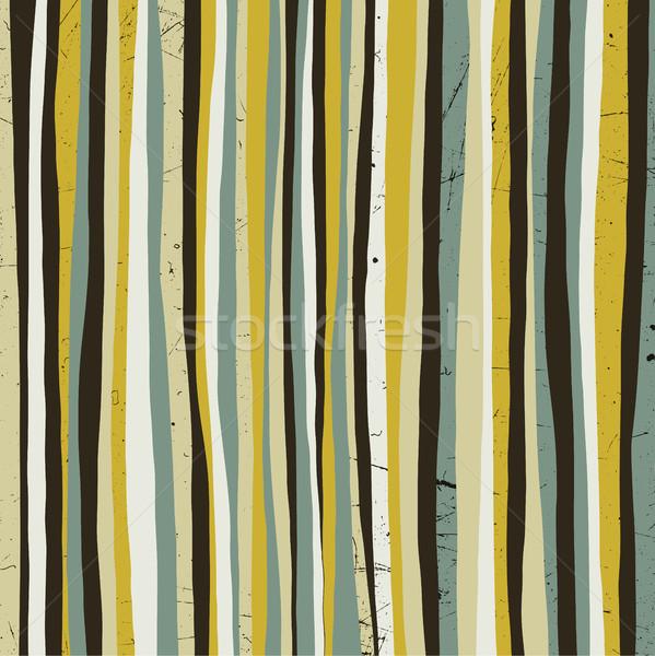 色 ベクトル グランジテクスチャ 縞模様の テクスチャ ストックフォト © biv