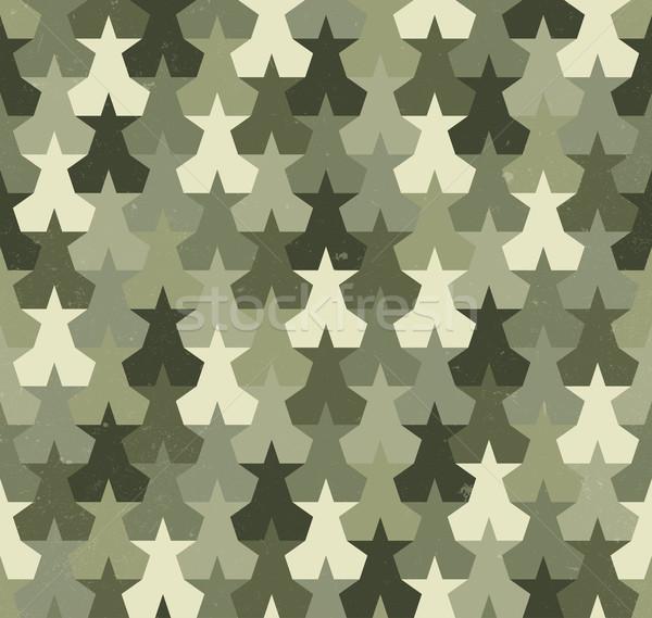 Camouflage seamless pattern Stock photo © biv