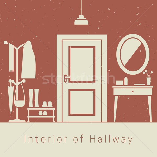 Hallway interior Stock photo © biv