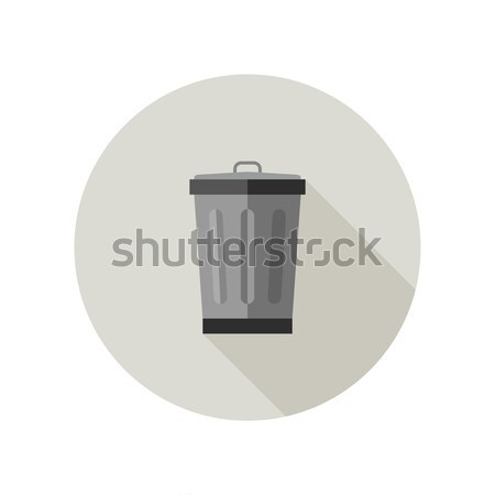 Dumpster icon Stock photo © biv