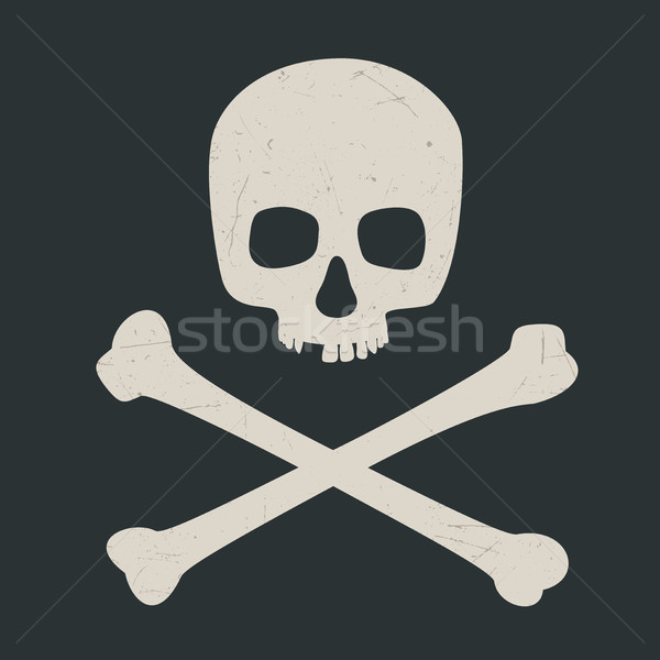 Skull and crossbones Stock photo © biv