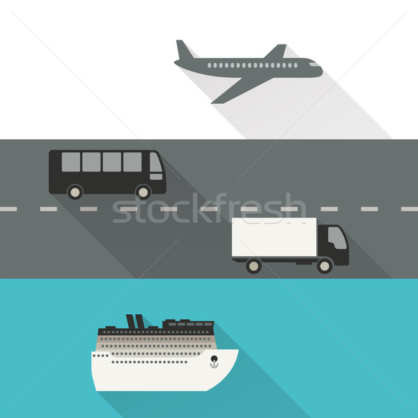 International shipping and delivery Stock photo © biv