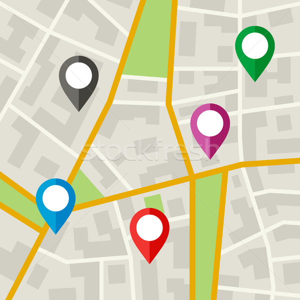 City Map Stock photo © biv