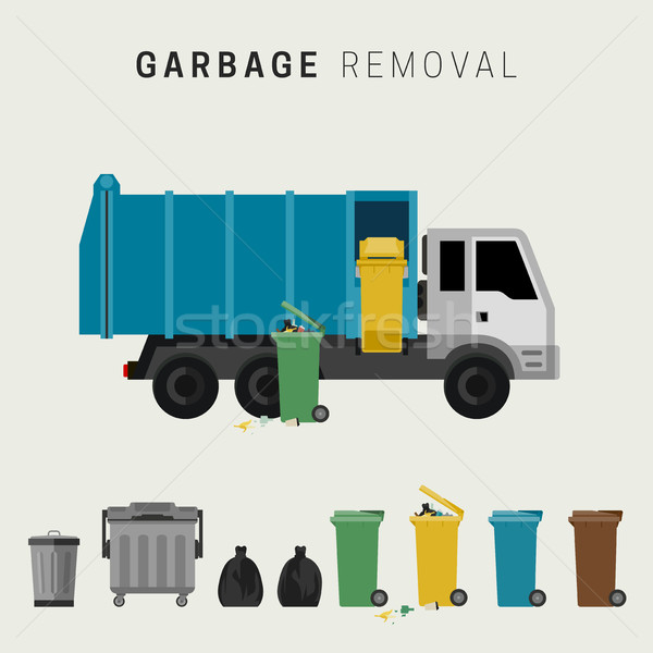 Garbage removal Stock photo © biv