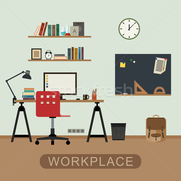 Workplace in room. Stock photo © biv
