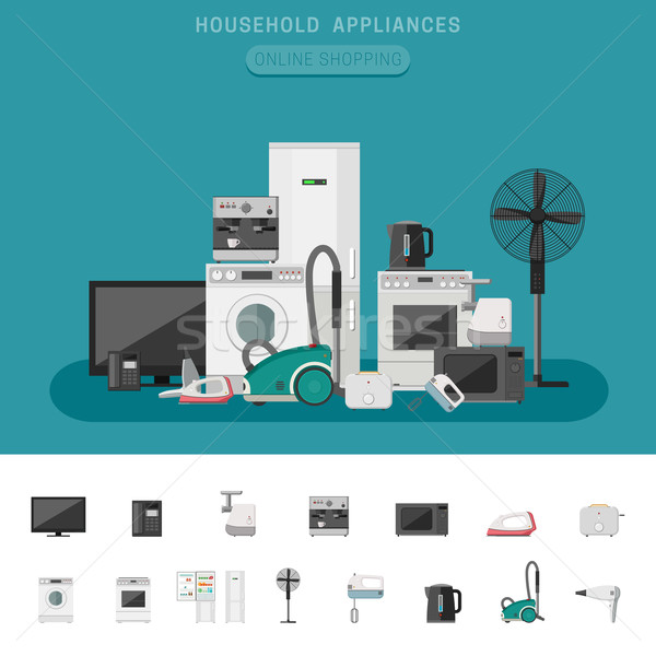Household appliance Stock photo © biv