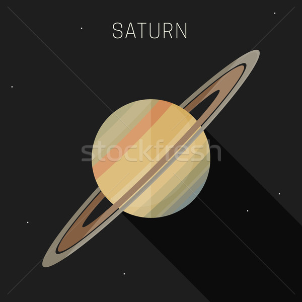 Saturn planet Stock photo © biv