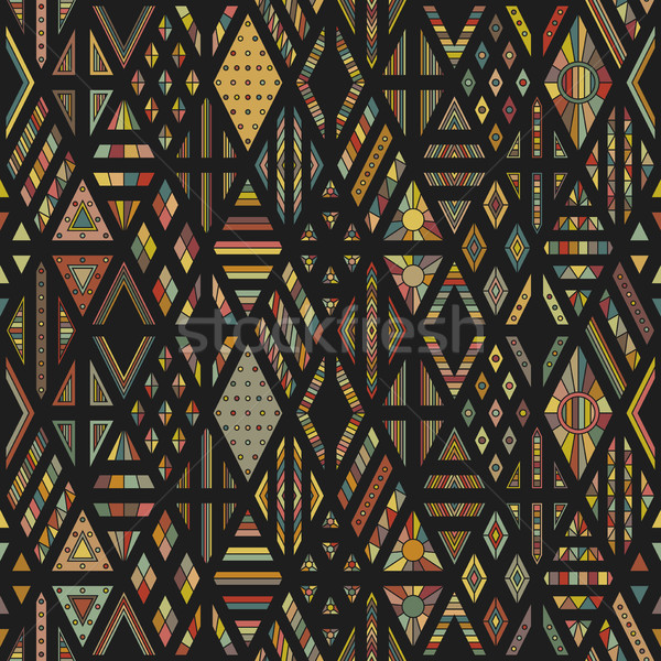 Rhombuses seamless pattern Stock photo © biv