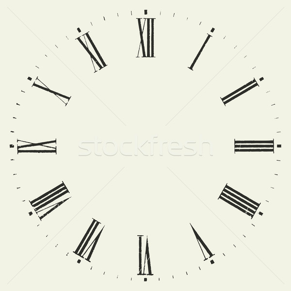 Vintage dial. Stock photo © biv