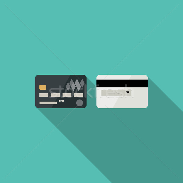 Credit cards icons Stock photo © biv