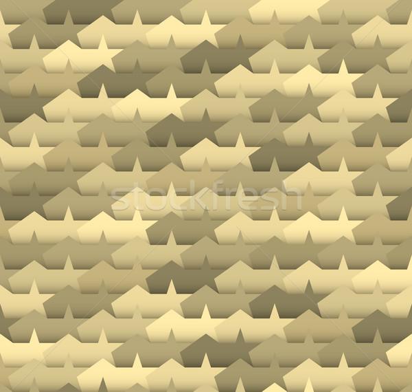 Geometric seamless pattern. Stock photo © biv
