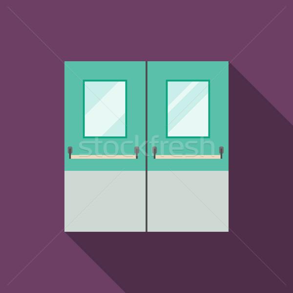 Double Doors Stock photo © biv