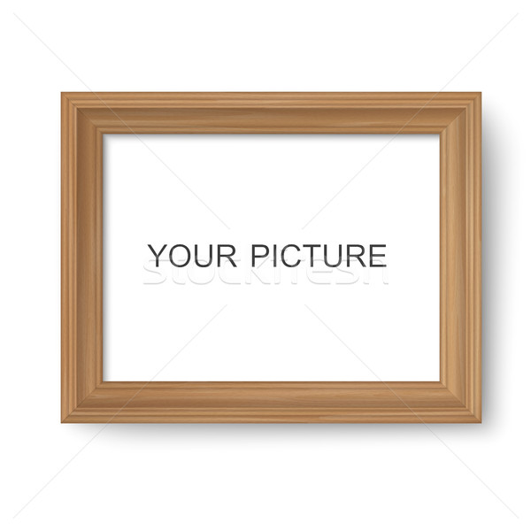 Wooden frame Stock photo © biv