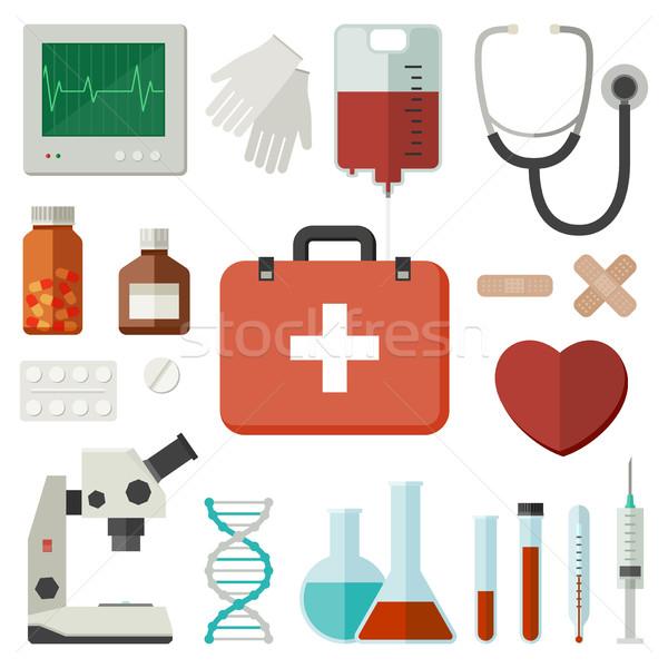 医療 アイコン スタイル ベクトル クロス 技術 ストックフォト © biv