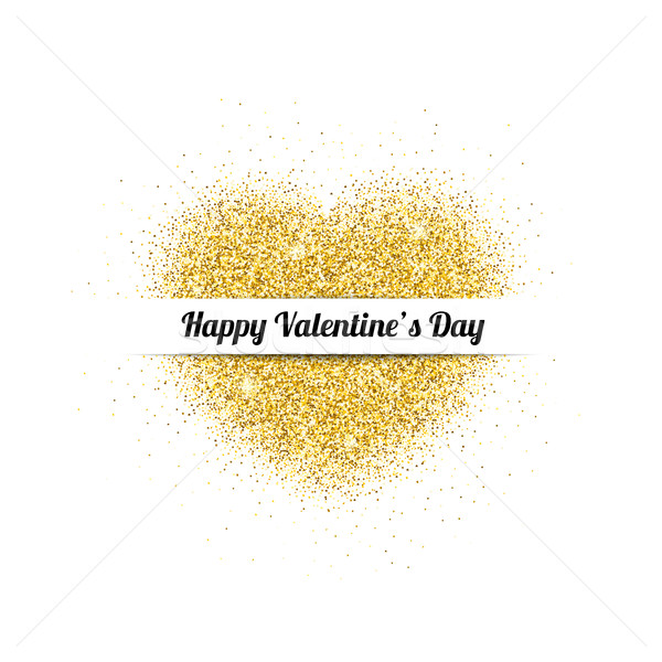 Valentine card with Heart Stock photo © biv
