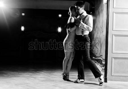 танцовщицы портрет человека женщину романтические Dance Сток-фото © blanaru