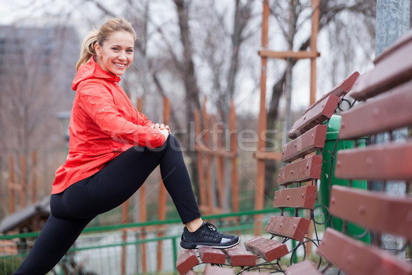 Caber sempre jovem mulher Foto stock © blanaru