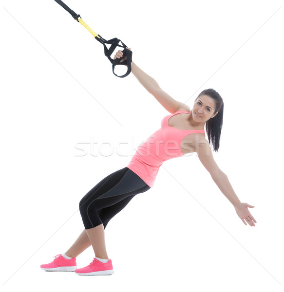 Fitness exercises Stock photo © blanaru