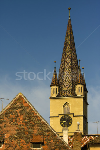 Gothic Church Stock photo © blanaru