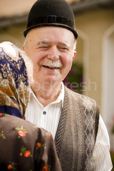 The smile series Stock photo © blanaru
