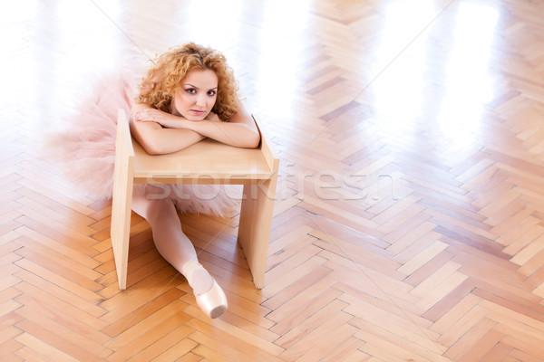 Ballerina Portrait Stock photo © blanaru