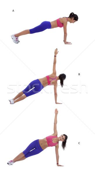 Rotating plank Stock photo © blanaru