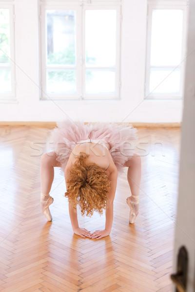 The art of a ballerina Stock photo © blanaru
