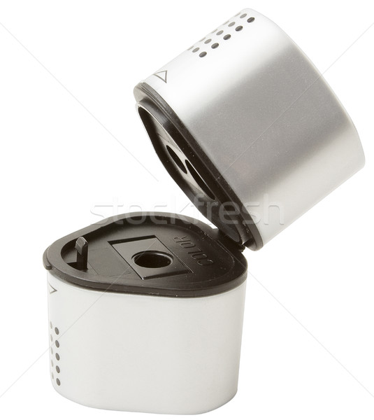 Szary farbują temperówka dwa odizolowany biały Zdjęcia stock © blanaru
