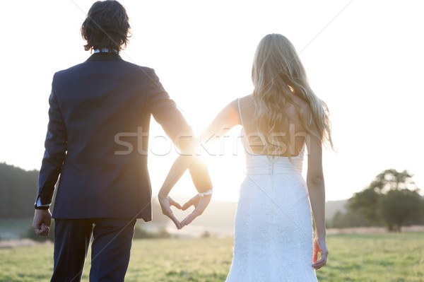 There's still love in the sunset Stock photo © blanaru