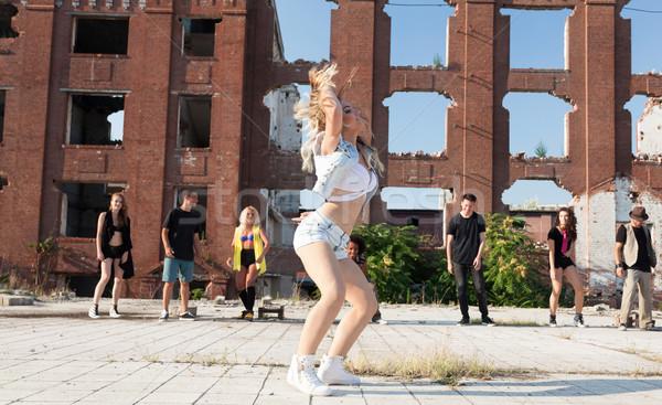 Dance is Power! Stock photo © blanaru