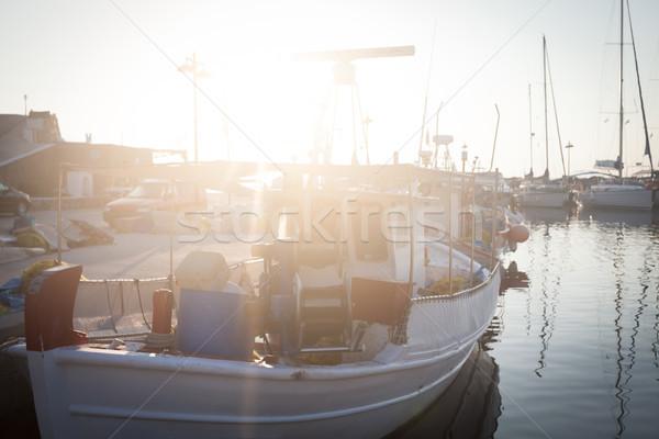 Yunan tatil başvurmak gündoğumu ada çok Stok fotoğraf © blanaru