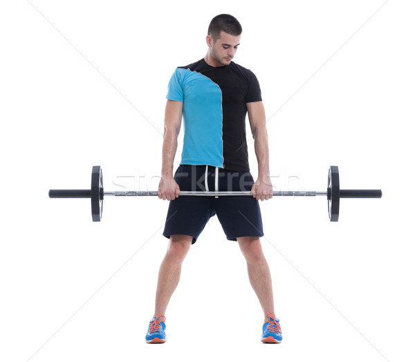 Olympic Barbell Stock photo © blanaru