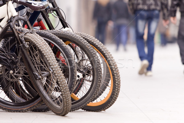 Bicycles Stock photo © blanaru