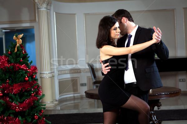 Tango pasión hombre mujer baile ver Foto stock © blanaru