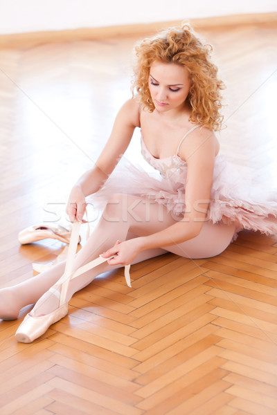 Gracefully Ballerina Stock photo © blanaru